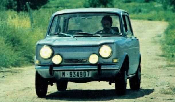Simca 1000 GT Rallye