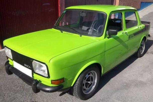 Simca 1000 Rallye Español Faros cuadrados