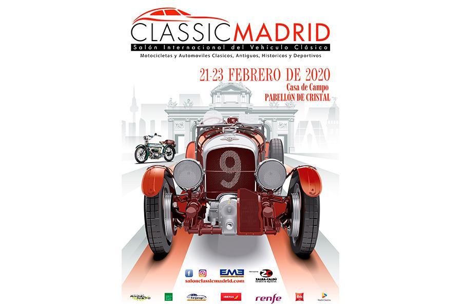 FEVA estará presente en el Salón ClassicMadrid 2020.
