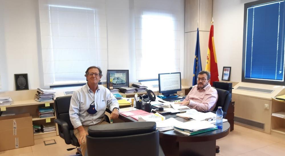 Reunión de FEVA con el nuevo Jefe de la Unidad Normativa de la DGT