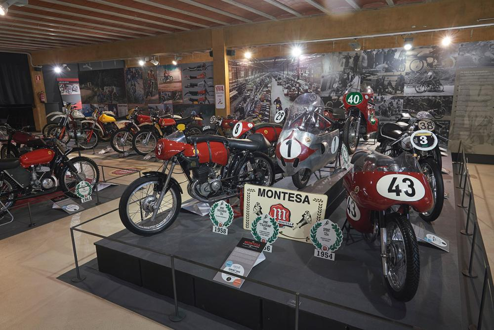 El Museo Moto Bassella alberga la exposición más singular y completa de la historia de Montesa