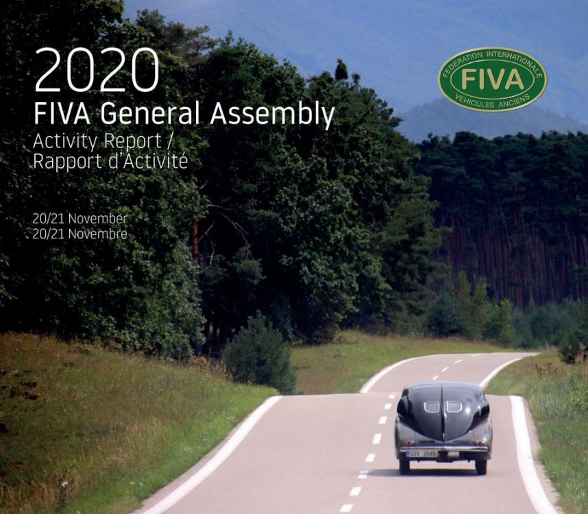 Celebrada la Asamblea General FIVA 2020