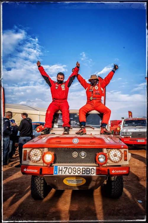 El equipo Euskadi 4x4  culmina su sueño en el I Dakar Classic