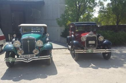 Celebrada la salida Otoñal Aranjuez de coches antiguos