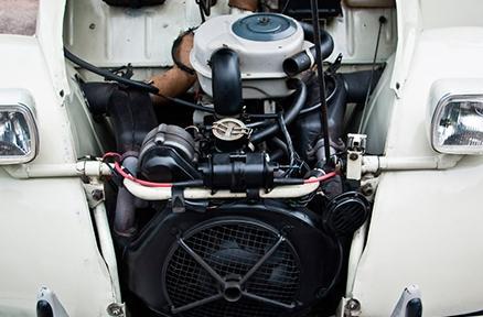 Citröen patrocina la restauración de un vehículo de su marca