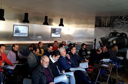 Celebrado el Seminario de Inspectores FIVA con 21 participantes