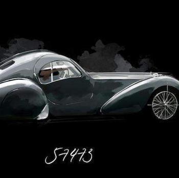 Bugatti Type 57 SC Atlantic Pope Atlantic
