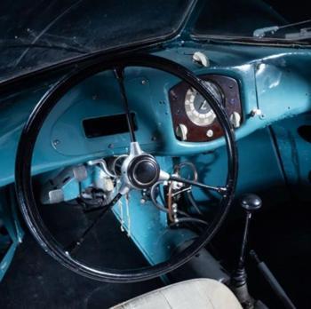Interior del Porsche Type 64 60K10