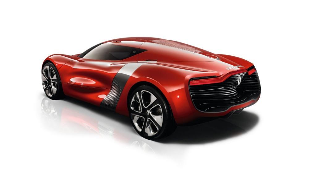 Renault DEZIR Concept - véhicule en 3D - vue 3/4 arrière