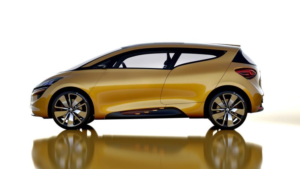 Renault R-SPACE Concept - vue de profil