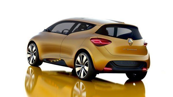 Renault R-SPACE Concept - vue 3/4 arrière