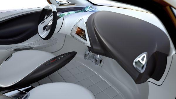 Renault R-SPACE Concept - habitacle avant