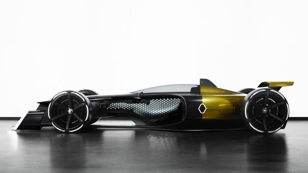 Renault Concept-car - R.S. 2027 Vision Concept de profil