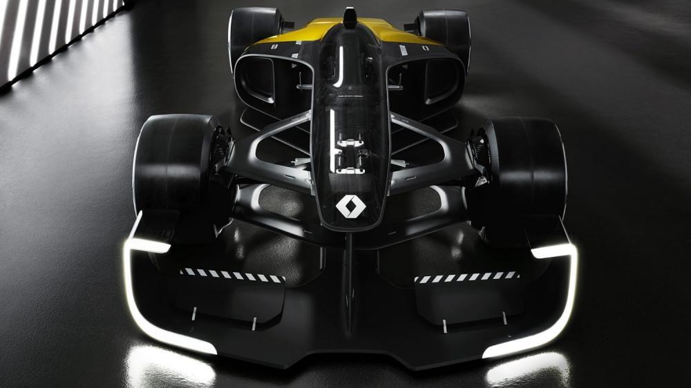 Renault Concept-car - R.S. 2027 Vision Concept de face