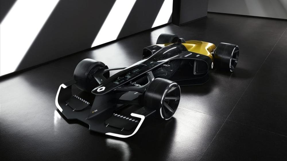 Renault Concept-car - R.S. 2027 Vision Concept 3/4 avant