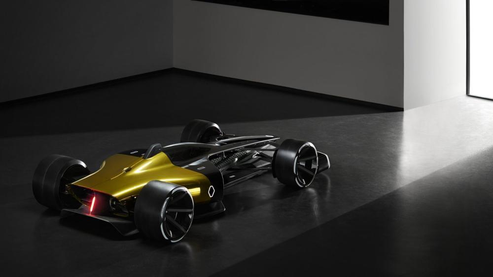 Renault Concept-car - R.S. 2027 Vision Concept dans la lumière