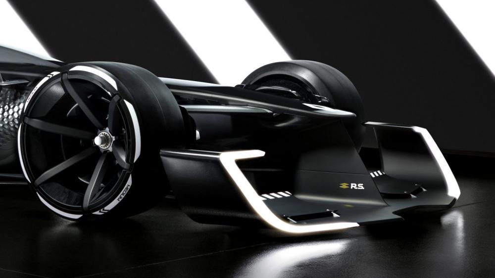 Renault Concept-car - ailerons avant R.S. 2027 Vision Concept