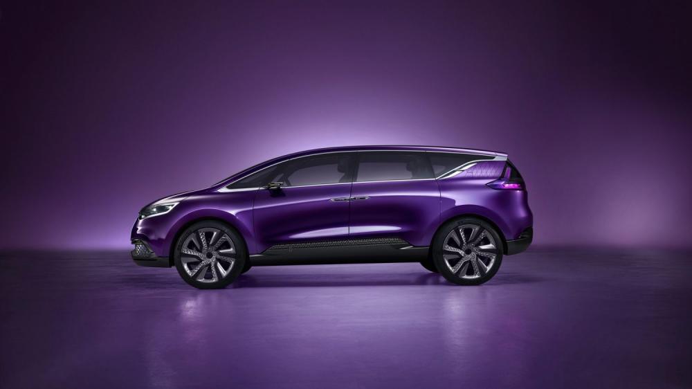 Renault INITIALE PARIS Concept - vue de profil du véhicule