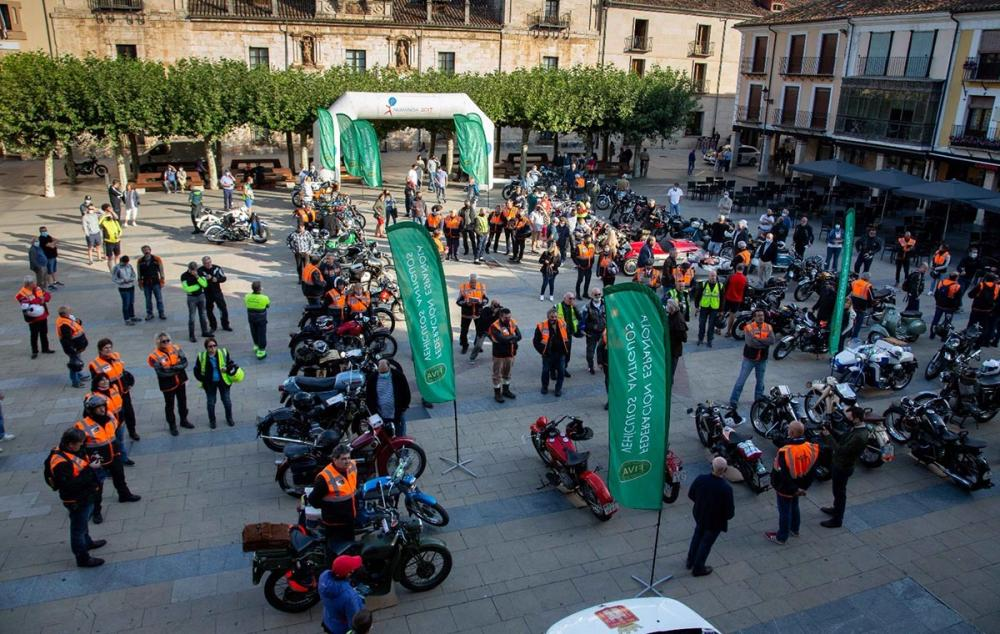 Éxito clamoroso del I Encuentro Nacional de Motocicletas FEVA