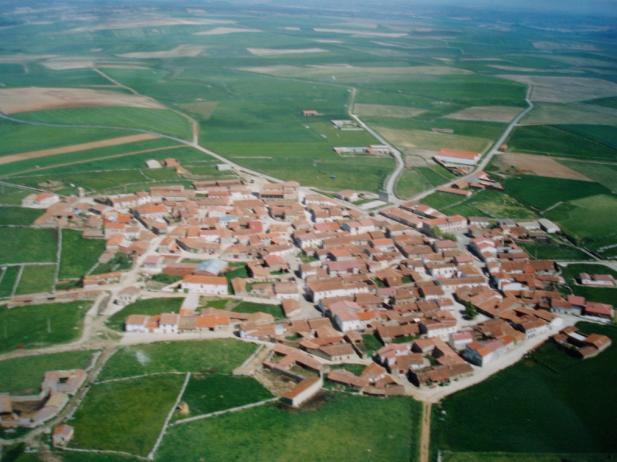Vista aérea, SAN GARCIA DE INGELMOS (Avila)