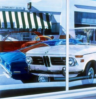 cuadros de paisajes urbano con automoviles pintura al oleo sobre lienzo.jpg