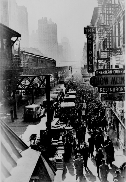 1940 New York City's Sixth Avenue.png
