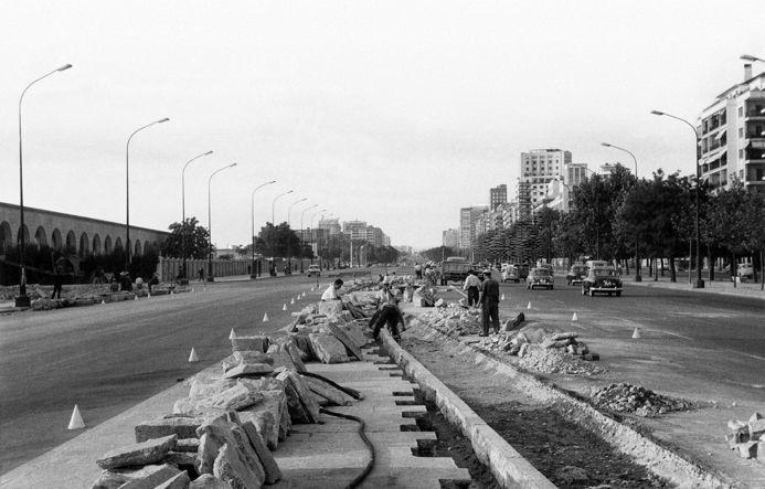 1962 Paseo de la Castellana.png