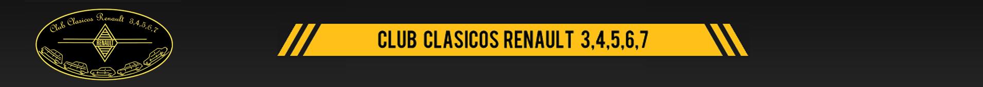 CLUB CLASICOS 3,4,5,6 Y 7 RENAULT